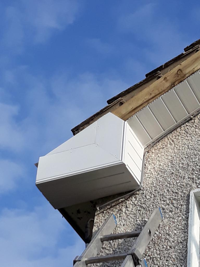 gutter boxs repaired